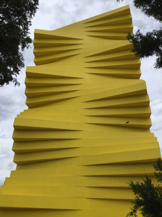 The Denver Adventure | Challenge: Replicate this photo of a big yellow sculpture