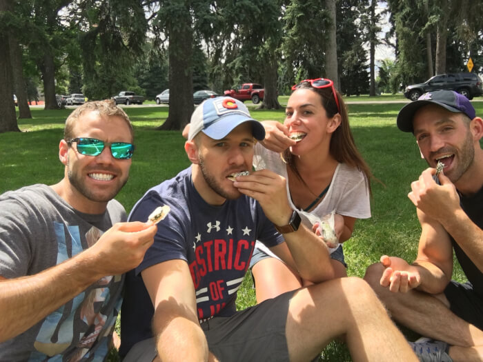 The Denver Adventure | Challenge: Cheese and crackers